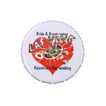 Boda del el día de San Valentín de Las Vegas Latas De Caramelos