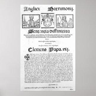 Boda del Enrique VIII y de Catherine de Aragón Impresiones