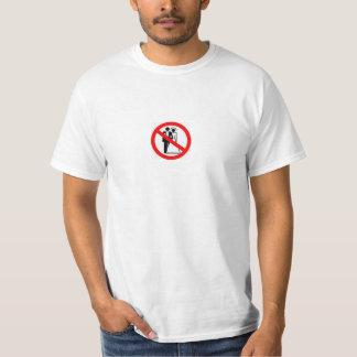 Boda del heterosexual de la prohibición camisas