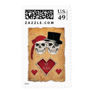 boda del pirata sellos