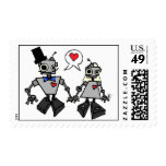 Boda del robot sello
