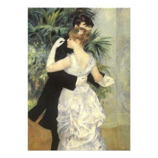 Boda del vintage, danza de la ciudad por Renoir