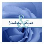Boda floral color de rosa azul soñador anuncios