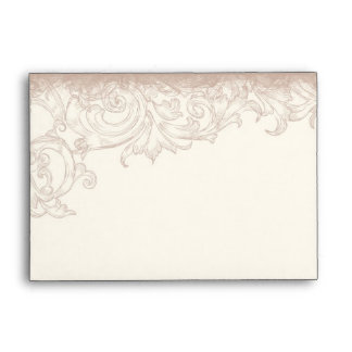 Boda floral color de rosa inglés antiguo del remol