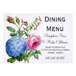 Boda floral de los rosas del Hydrangea que cena el