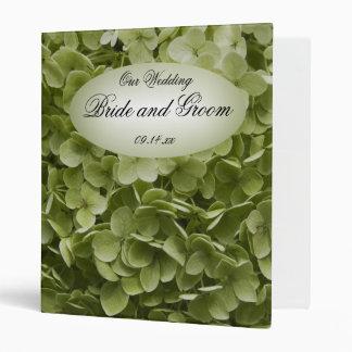 "Boda floral del Hydrangea verde de Annabelle Carpeta 1"""