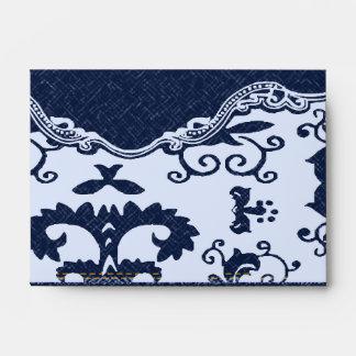 boda floral del país del cordón azul moderno del