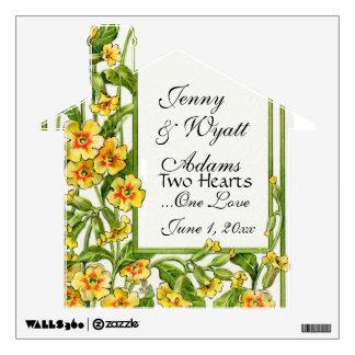 Boda floral en enlace eterno del jardín de los amo