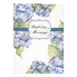 Boda formal floral del soporte azul del Hydrangea