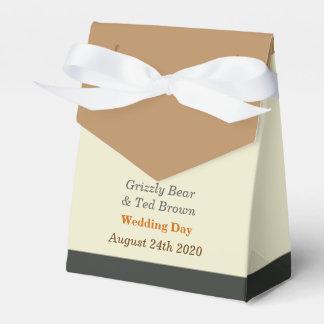 Boda gay simplificado de la caja del favor de la paquetes de regalo para bodas