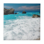 Boda hawaiano de la playa del agua de la hawaiana  azulejos cerámicos