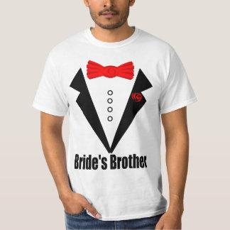 boda, hermano de la novia playera