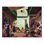 Boda judío (después de Delacroix) por Invitación 10,8 X 13,9 Cm