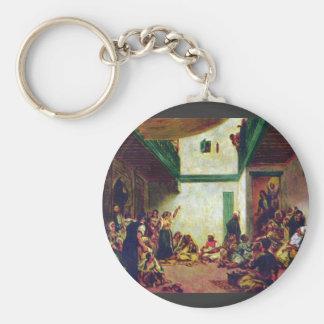 Boda judío (después de Delacroix) por Pedro Renoir Llaveros Personalizados