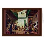 Boda judío (después de Delacroix) por Tarjeta De Felicitación