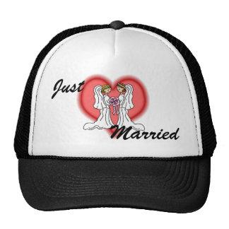 Boda lesbiano gorra