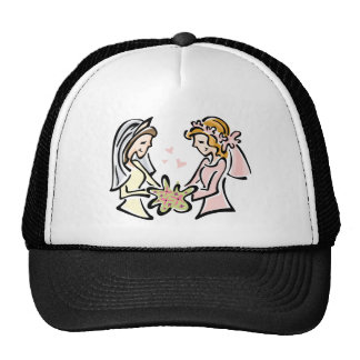 Boda lesbiano gorras