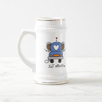 Boda lesbiano taza de café