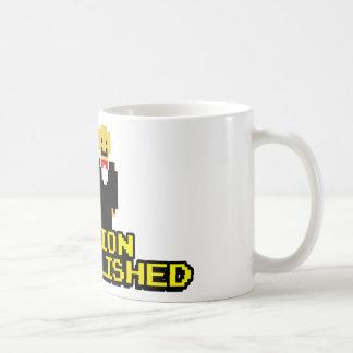 "Boda lograda ""misión"" (gay, de 8 bits) tazas de café"