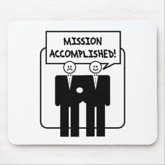 "Boda lograda ""misión"" (homosexual) tapetes de raton"