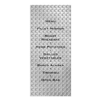 Boda medieval gótico de plata de Chainmaille Diseño De Tarjeta Publicitaria