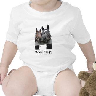 Boda nupcial del país del fiesta traje de bebé