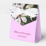 Boda personalizado árbol blanco del flor paquetes de regalo