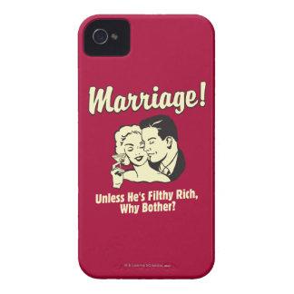Boda: Porqué preocupación Case-Mate iPhone 4 Cárcasas