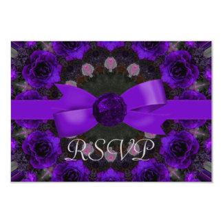 Boda púrpura de la mandala de los rosas