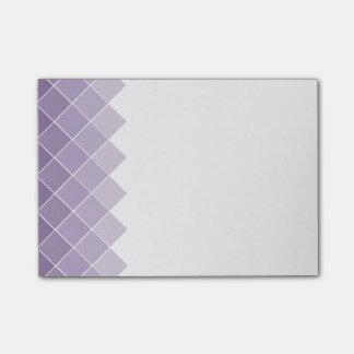 Boda púrpura de Ombre de la lila Post-it Nota