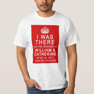 Boda real ESTABA ALLÍ las camisetas Remeras