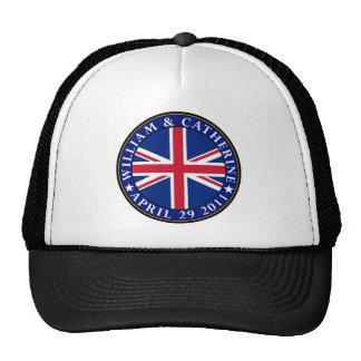 Boda real gorras de camionero