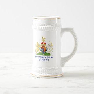 Boda real jarra de cerveza
