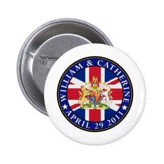 Boda real pin