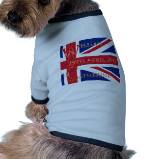 Boda real camisa de perrito