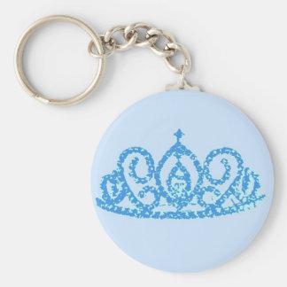 Boda real/tiara llavero redondo tipo pin
