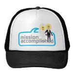Boda realizada de la misión gorra