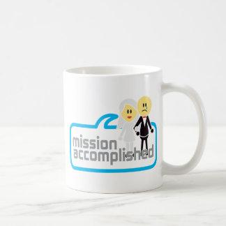 Boda realizada de la misión taza clásica