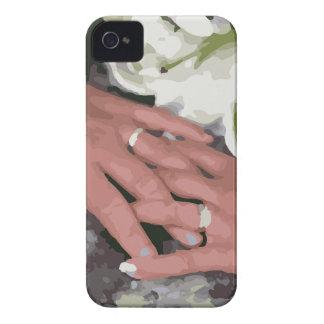 Boda Rings1 Funda Para iPhone 4 De Case-Mate