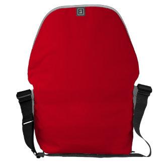 Boda Rojo-De la parte alta candente grande del Bolsas De Mensajeria