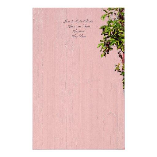 Boda rojo y rosado con acontecimiento del fiesta papeleria
