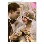 Boda romántico tarjetas