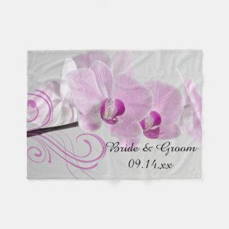 Boda rosado de la elegancia de la orquídea