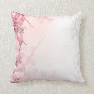 Boda rosado de la orquídea cojin