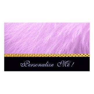 Boda rosado femenino elegante lindo/Casa-de-Grosch Plantillas De Tarjetas De Visita