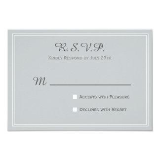 """Boda RSVP para la colección del amor del estado Invitación 3.5"""" X 5"""""""
