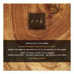 Boda rústico de madera de la textura del grano de