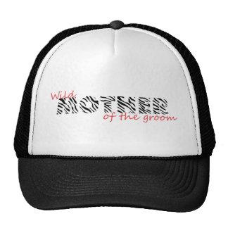 Boda salvaje gorras de camionero