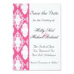boda, savethedate, negro, blanco, con clase rosado comunicado