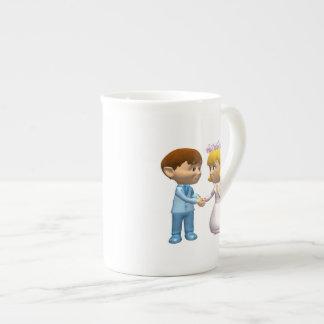 Boda Tazas De Porcelana